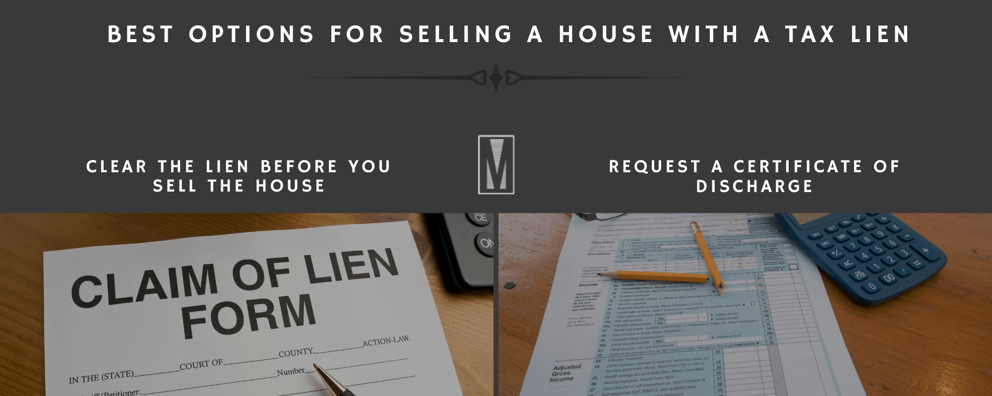 The Best Options For Selling A House With A Tax Lien