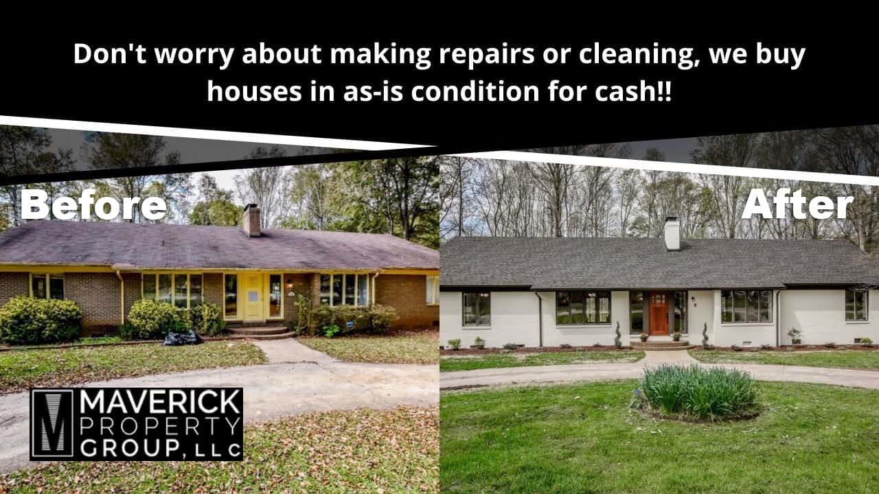 We buy houses in any condition for cash in Charlotte NC