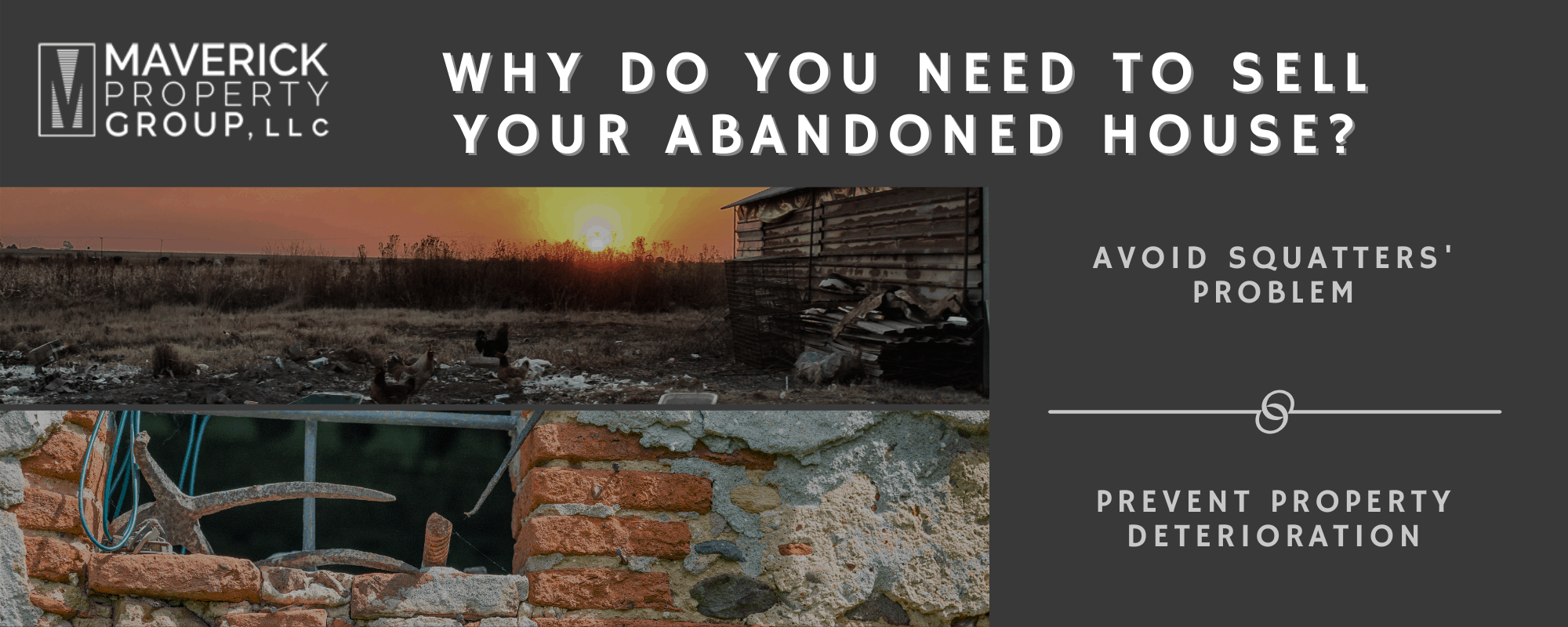 Why Should You Sell Your Abandoned House